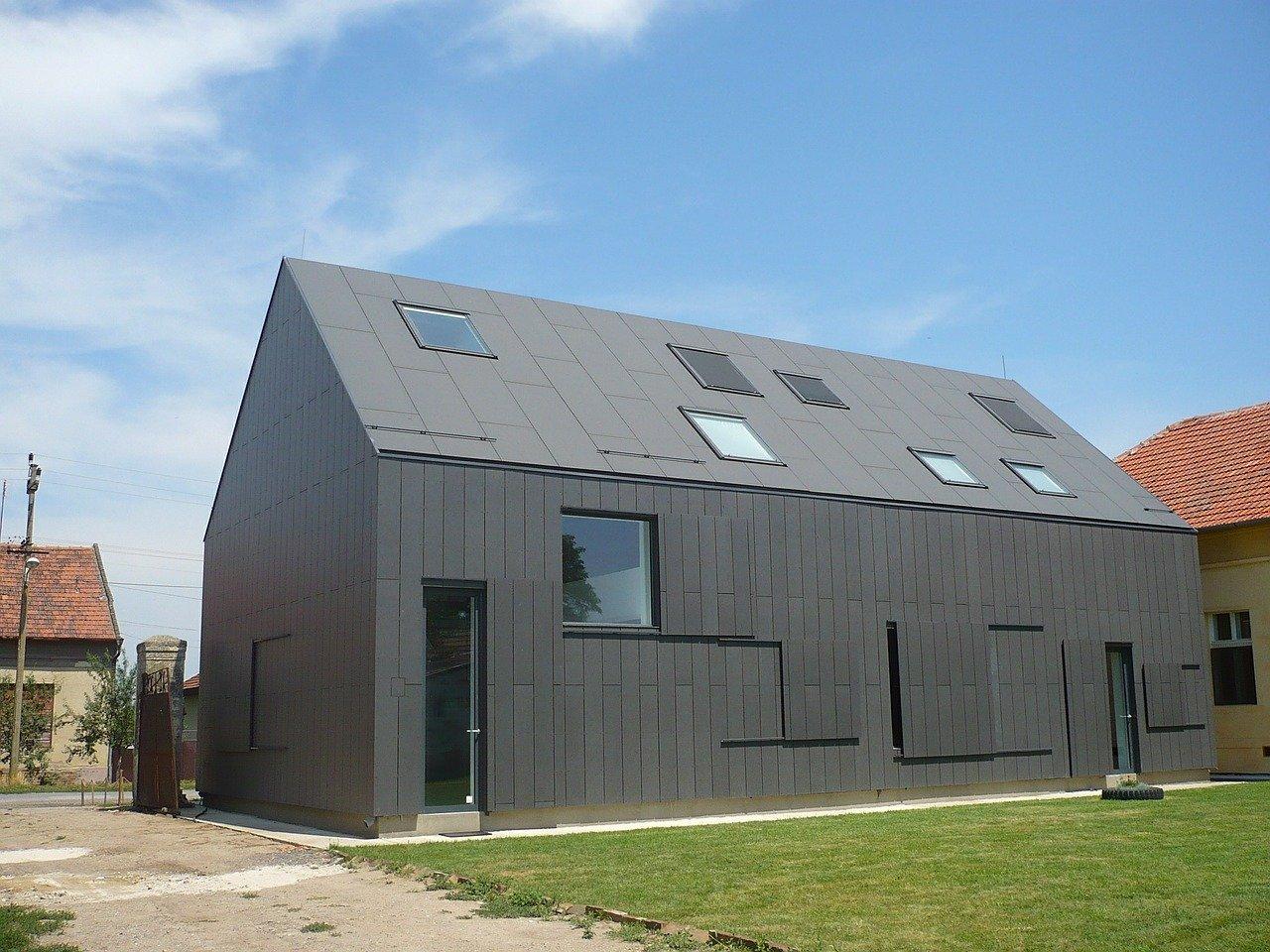 Nowoczesna stodoła – pomysł na dom!