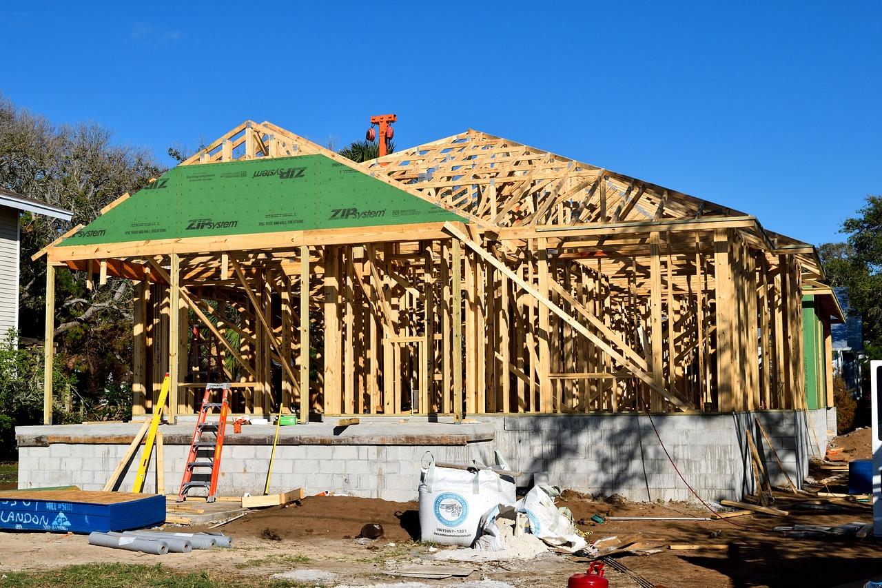Etapy budowy domu szkieletowego